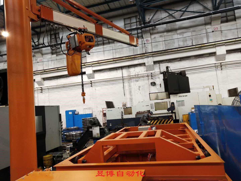 高鐵車輪制造用助力機械手
