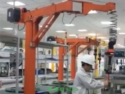 山東軍工生產用助力機械手