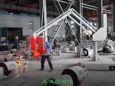 山東鑄造機械手